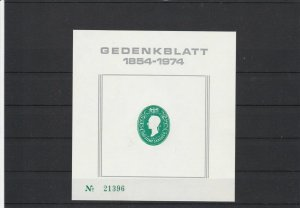 Austria Postage Stamps Commemorative Sheet 1854-1974 Ref 27025