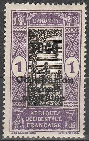 Togo #176 F-VF Unused  (S5652)