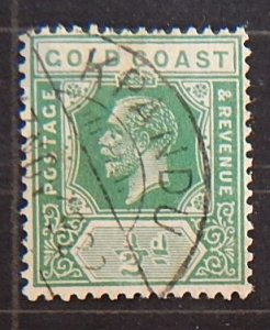 Gold Coast, 1913-1921, King George V, SC #69