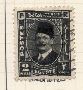Egypt 1937 Early Issue Fine Used 2m. 203011