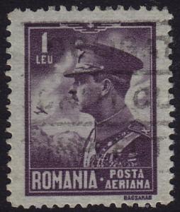 Romania - 1930 - Scott #C13 - used - King Carol II