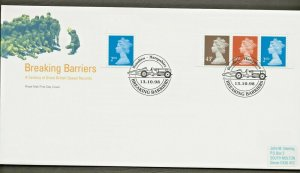 13/10/1998 NEW PERF14 DEFINITIVES 2nd RB,2nd LB,10p,43P 2B EX PRESITIGE BOOK FDC