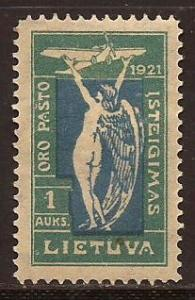 Lithuania  #  C - 12  Mint