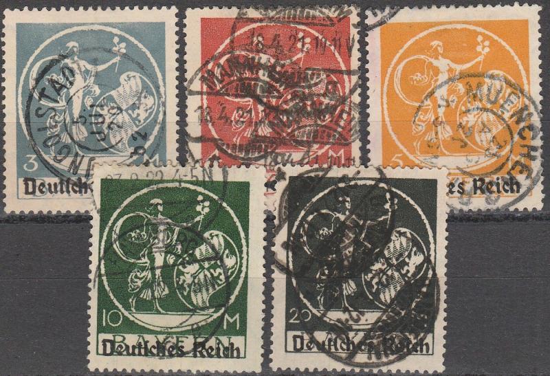 Bavaria #271-5  F-VF Used CV $58.00 (A16164)