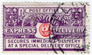 (I.B) New Zealand Postal : Express Delivery 6d (1936) SG E3
