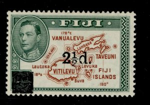 FIJI SG267, 2½d on 2d brown and green, M MINT.