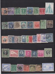 LOT OF DIFFERENT STAMPS OFCHILI USED (42) LOT#129