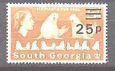 South Georgia 29 MNH Elephant seals SCV15