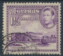 Cyprus  SG 155a SC# 147A  Used   Kyrenia  Harbour  see detail and scan