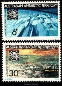 Australian Antarctic Territory Scott L19-L20 Mint never hinged.