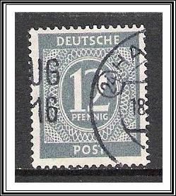 Germany #539 Numeral Used