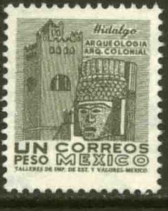 MEXICO 950, $1Peso 1950 Definitive 3rd Printing wmk 350. MINT, NH. F-VF.