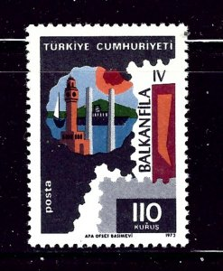 Turkey 1951 MNH 1973 issue     (P88)
