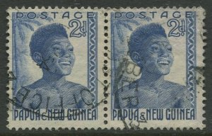 STAMP STATION PERTH Papua New Guinea #124 General Issue  Used 1952 CV$0.50