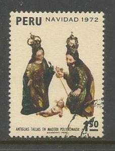 Peru    #597  Used  (1972)