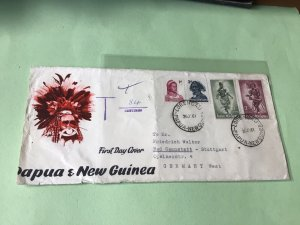 Papua & New Guinea To Pay 1961   Stamp Cover  Ref 52155