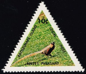 Rattlesnake Island Local Post Stamp