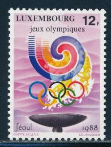 Luxembourg - Seoul Olympic Games MNH Stamp (1988)