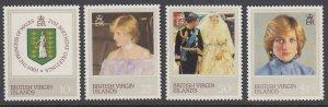 Virgin Islands 430-3 Princess Diana mnh