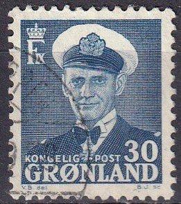 Greenland #33 F-VF Used