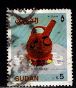 Sudan - #415 Gabana Coffee Pot - Used