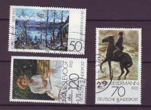 J10301 JL stamps @20% 1978 germany set3 used #1283-5 art