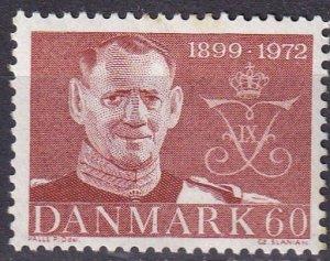 Denmark #488 F-VF Unused