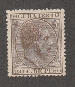 CUBA #99 MINT HINGED