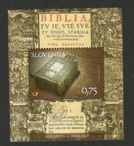 SLOVENIA - MNH BLOCK - BIBLE - 2007.