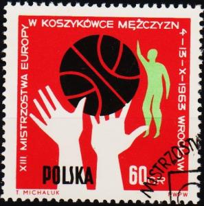 Poland. 1963 60g S.G.1407 Fine Used