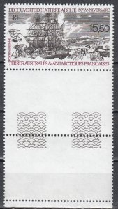 French and Southern Antarectic Terr., Sc C110, MNH, 1990, Discovery of Adelie