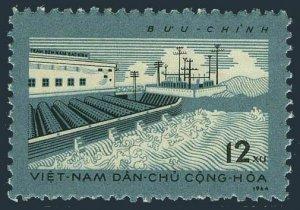 Viet Nam 317,MNH.Michel 327. Nam Bac Ninh Pumping Station,1964.