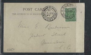 RHODESIA COVER (PP1211B)  1908 ARMS ON PPC RHODES STATUE TO CAPE COLONY