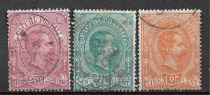 COLLECTION LOT OF # 629 ITALY Q3-5 1884+ CV+$61