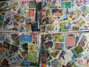 Japan 4,000 older 97% commemoratives mixture (duplicates, mixed condition)