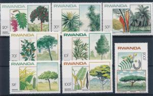 [66537] Rwanda 1984 Flora Flowering Plants  MNH