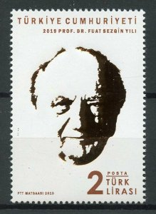 Turkey Famous People Stamps 2019 MNH Dr Fuat Sezgin History of Science 1v Set