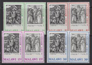 MALAWI SG388/95 1971 EASTER MNH