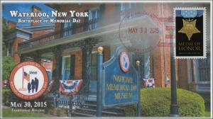 2015, Memorial Day, Waterloo NY, National Museum, Birthplace, 15-119