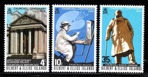 Gilbert & Ellice Islands # 234-46 ~ Cplt Set of 3 ~ Mint, NH