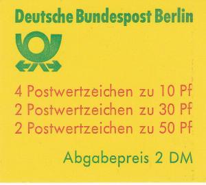 Germany #9N391b Complete Booklet CV $4.00