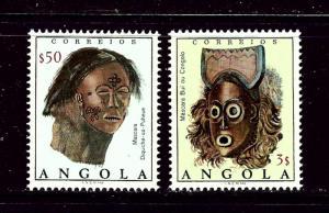 Angola 595-96 MNH 1976 set
