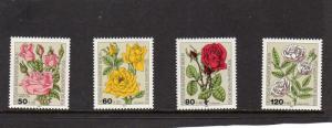 West Berlin 1982 Roses MNH