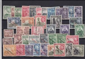 Malta Mounted Mint & Used Stamps  ref R 16676