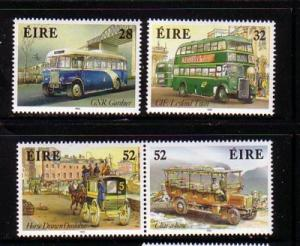 Ireland Sc 905-8 1993 Buses stamp set mint NH