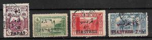TURKEY STAMPS 1921. Mi.#685-688