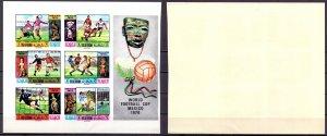 Ras al-khaimah. 1970. 354B-59B. World Cup. MNH.