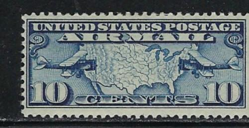 U.S. C7 hinged 1926 issue