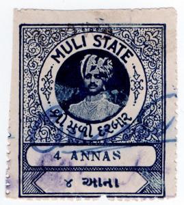 (I.B) India (Princely States) Revenue : Muli State Duty 4a