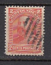 newfoundland 81  1897 2c Orange Prince of Wales used